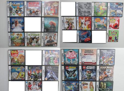 Lote x32 juegos originales para nintendo ds