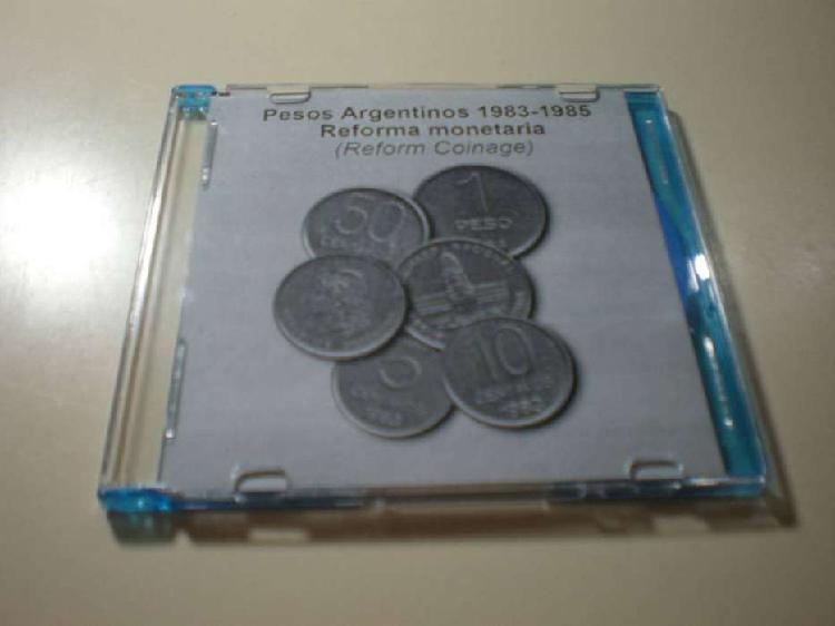 Monedas argentinas 1.980