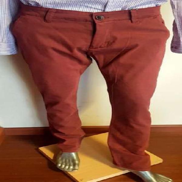 Pantalon hombre gabardina chupin. talle 44