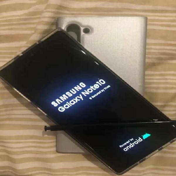 Samsung galaxy note 10 256gb 8gb, como nuevo solo permutas