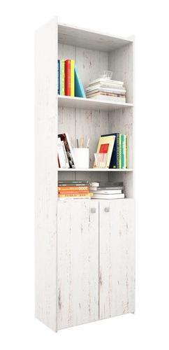 Biblioteca modular 4 estantes con 1/2puertas + envió sin