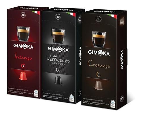 40 cápsulas nespresso compat. gimoka - 2 packs envío