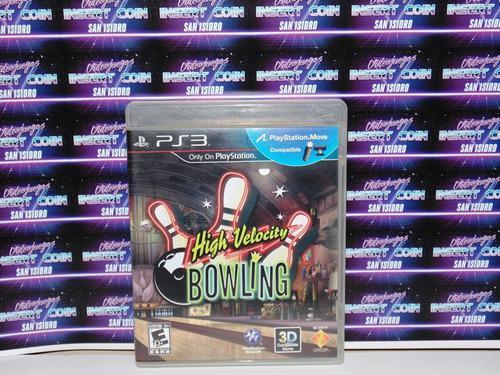 Bowling play station 3 ps3 juego