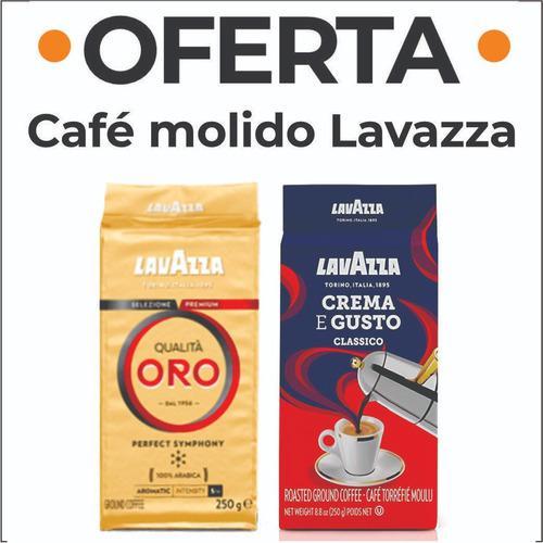 Cafe lavazza molido oferta 2 distintas variedades