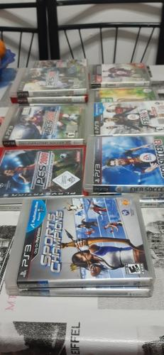 Coleccion juegos de fútbol ps3 + sport champions