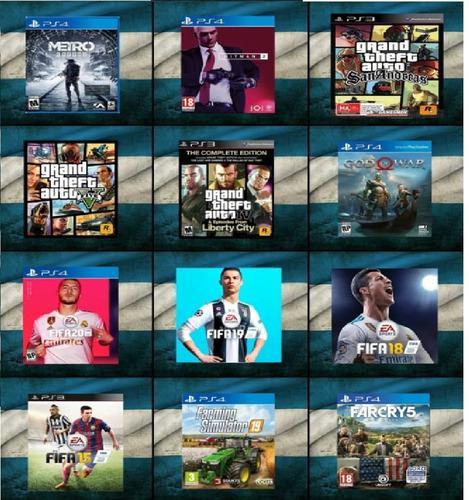 Juegos digitales ps3 y ps4 baratos