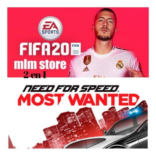 Juegos fifa 20+need for speed mw ps3, lean descripción...