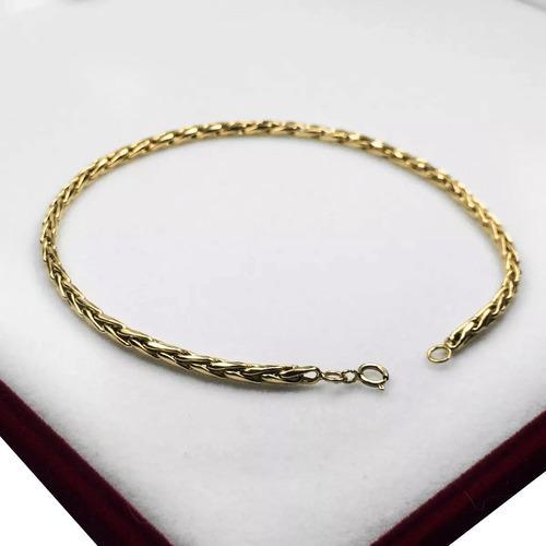 Pulsera oro 18k modelo soga 3 grs hombre mujer 20 o 22 cm