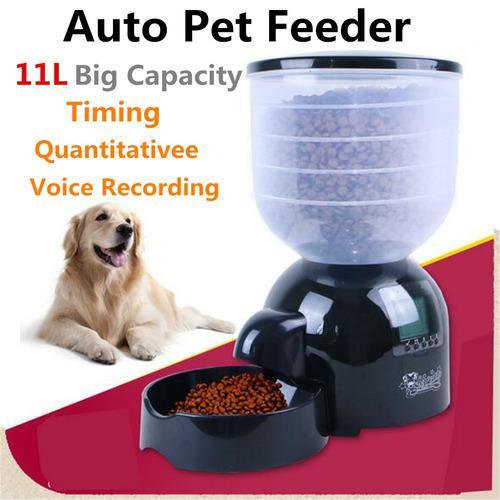 11 litros automático del animal doméstico del alimentador