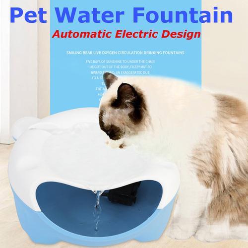 Automático eléctrico del animal doméstico agua fuente
