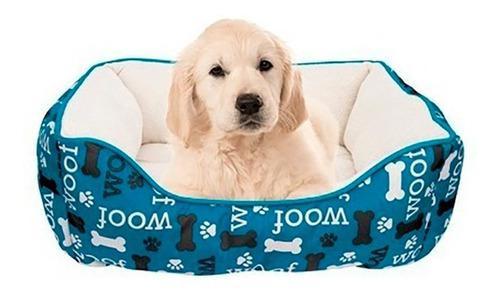 Cama moises perros gatos importada dog it pequeña azul full