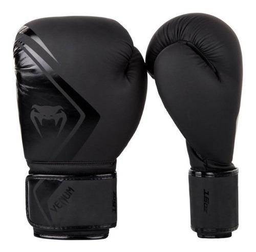 Guantes venum contender 2.0 boxeo - negro/negro original
