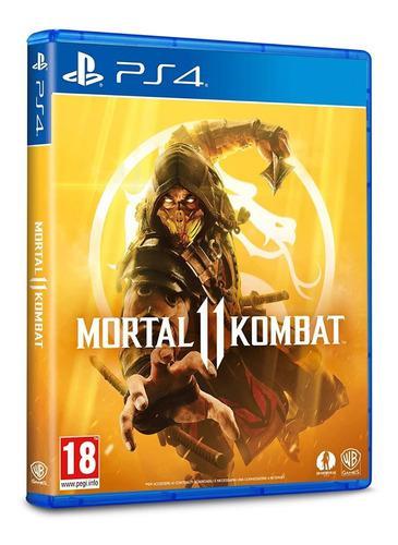 Juegos ps4 - mortal kombat 11 - digital primario