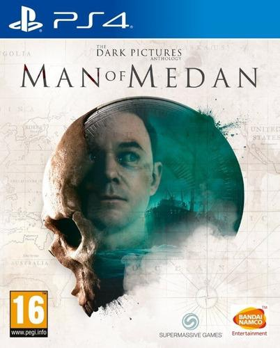 Man of medan ps4 juego físico original sellado