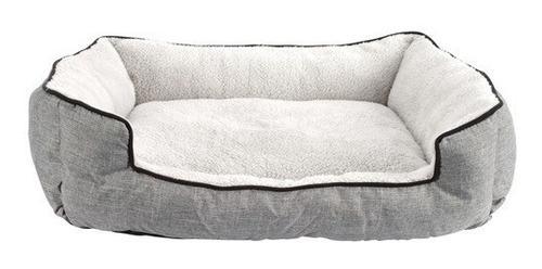 Moises cama rectangular para perro y gato dog it gris