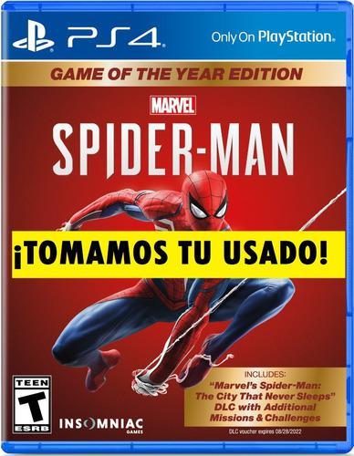 Spiderman ps4 juego fisico sellado canje / venta sevengamer