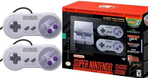 Super Nintendo Nes Classic Edition Oferta Limitada Nueva