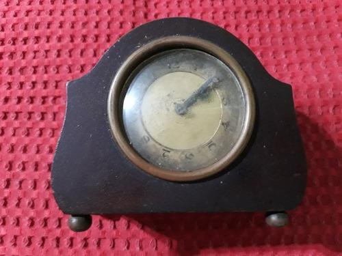 Antiguo reloj despertador caja de madera no funciona