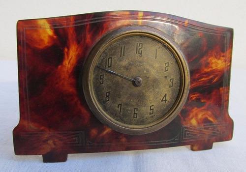 Antiguo reloj frances, publicidad de michelin, bibendum
