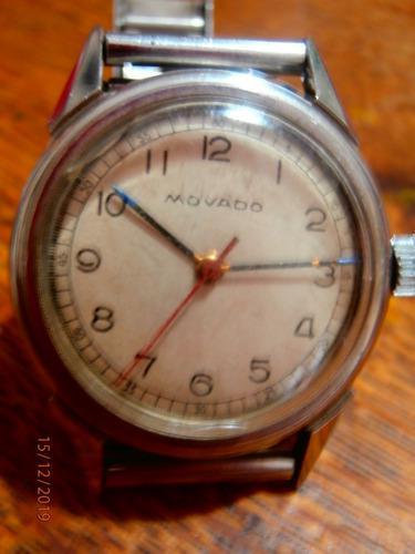Antiguo reloj movado automatico funciona