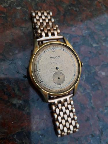 Antiguo reloj pulsera caballero monta 35mm a restaurar.