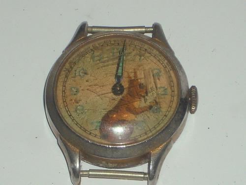 Antiguo reloj pulsera cuerda manual muros watch factory 1949