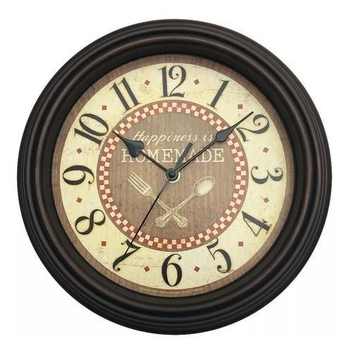 Reloj de pared estilo antiguo vintage cocina comedor dajdac