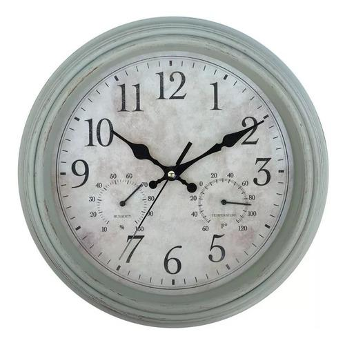 Reloj de pared estilo antiguo vintage crema negro dajdac