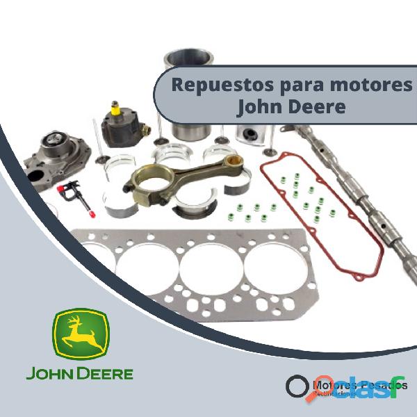 Repuestos para motores john deere