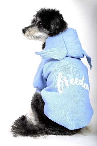 Abrigo buzo frisa - ropa para perros - freedom