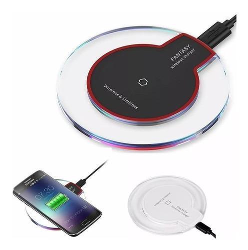 Cargador inalambrico wireless universal tecnologia qi usb