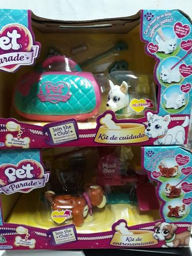 Pet parade (combo) kit de entrenamiento + kit de mascotas