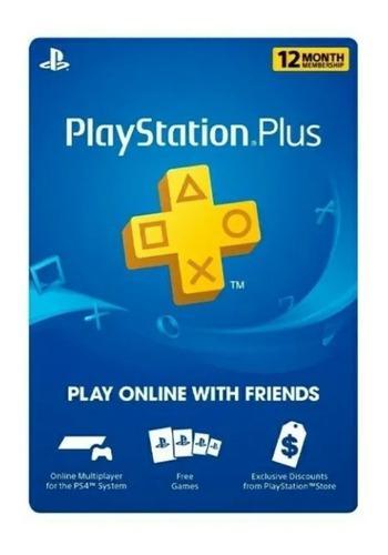 Playstationplus 12 meses! ps3 ps4 ps vita
