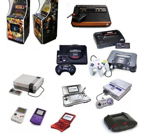 Juegos y emulador sega snes n64 atari mame arcade gameboy