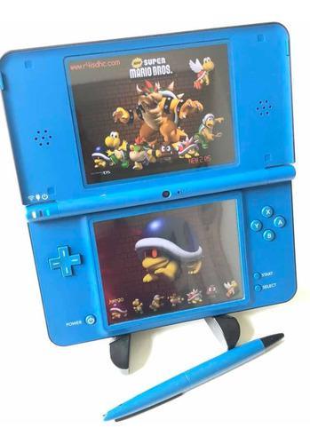 Nintendo ds xl con más de 20 juegos.