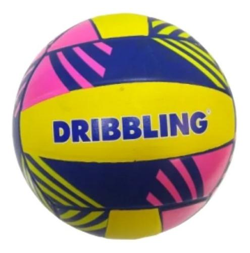 Pelota goma volley drb tricolor - 2440