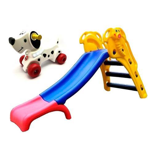 Toboganes infantiles elefantito rodacross + andadores perro