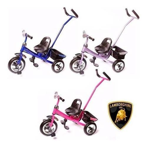 Triciclo infantil manija direccional lamborghini 7070
