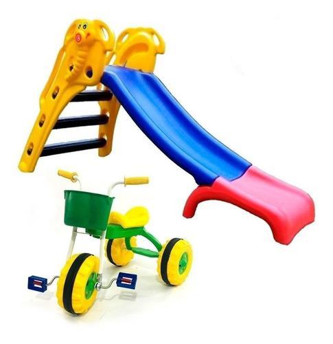 Triciclos infant niños + toboganes elefantito rodacross si