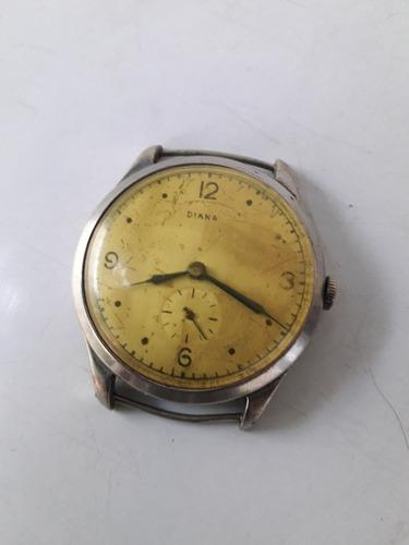 Antiguo reloj pulsera caballero diana 37mm.