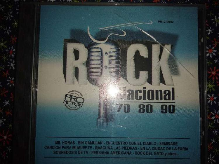 Cd rock nacional 70 80 90
