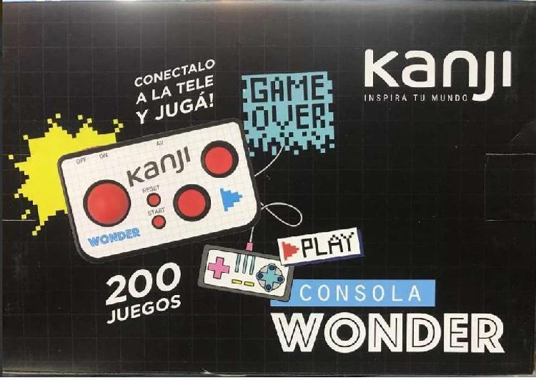 Consola wonder kanjy 200 juegos