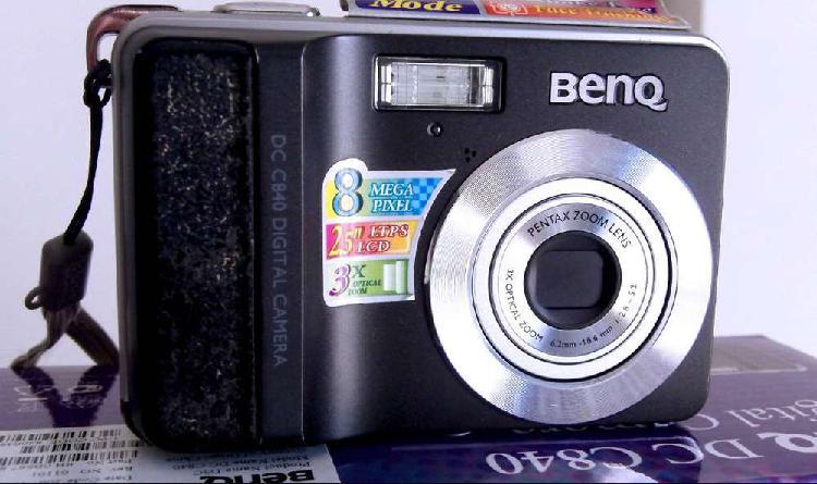Camara digital de fotos benq dc c840 / 8 megapixeles