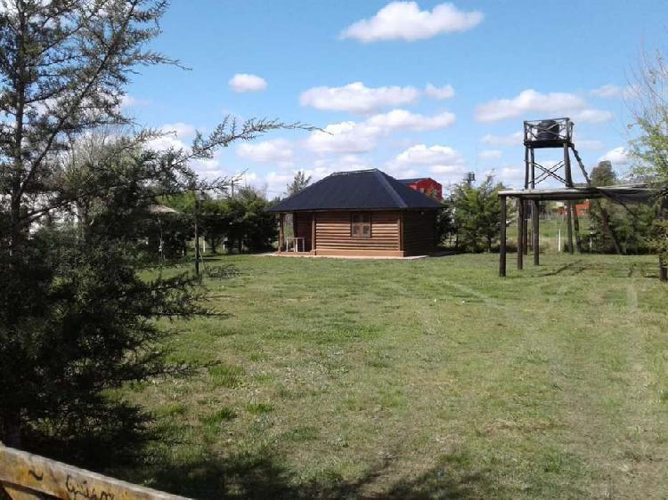 Casa quinta - cabaña de troncos