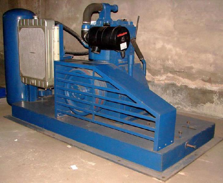 Compresor de aire nuevo fijo de 10 m3/min con base