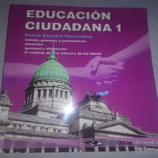 Educación ciudadana 1, doce orcas nes .estado gobierno y