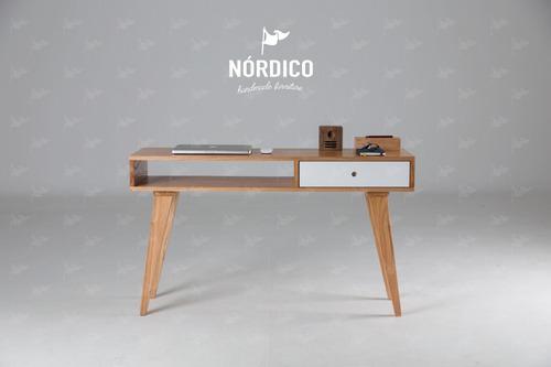 Escritorio Escandinavo Nordico Diseño Mesa Arrime 15% Off