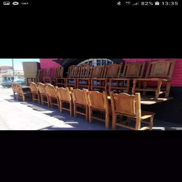 Muebles a medida y standard en algarrobo macizo!!!