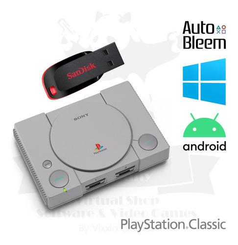 Pack 5800 juegos play station classic pc android psp