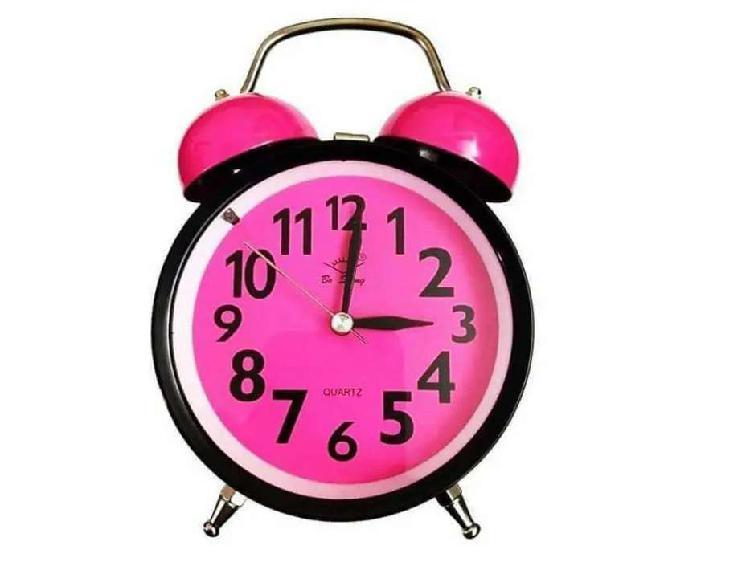 Reloj despertador retro de campana vintage